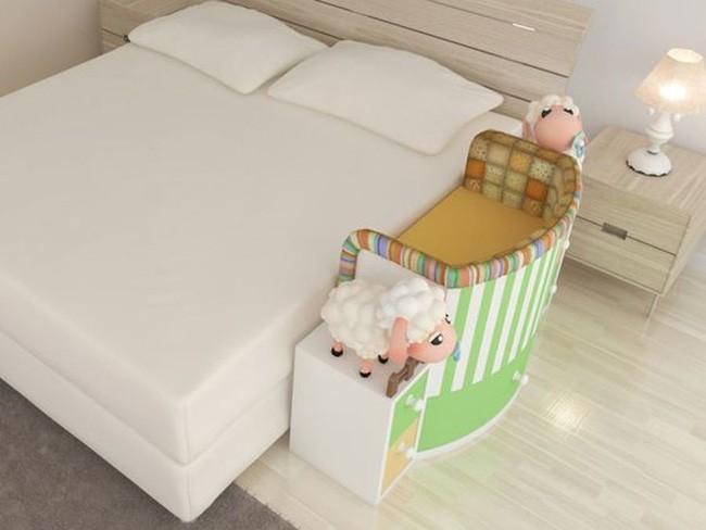 1.Giường cũi thông minh cho thiên thần nhỏ