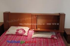 Giường ngủ gỗ tự nhiên TN011